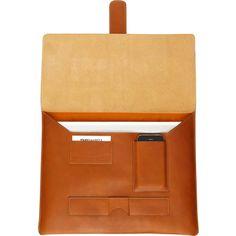 Travelteq Leather MacBook Sleeve image