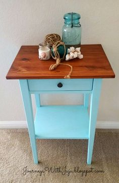 Painted hemnes nightstand