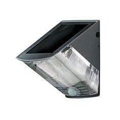Solar Powered LED Wall Light with Downward Light