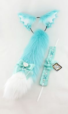Lolita Accessories and more. Kitten Play Gear, Kitten Play Collar, Wolf Ears And Tail, Fox Ears, Cat Love Quotes, Neko Ears, Cats Tumblr, Mermaid Cat, Lolita Cosplay