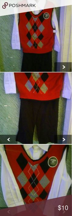 Size 6 boys 3pice set New Other