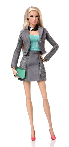 Daytime Impact Dasha Dressed Doll, Fashion Royalty Collection