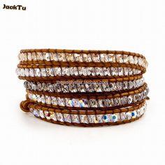 Jewelry & Watches Aspiring Rainbow Multi-colour & Silver Macrame Wrapped Adjustable Bracelet Bangle Bracelets