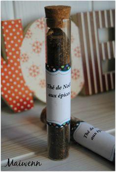Thé de Noêl aux épices un autre petit kit!!! trognon!!