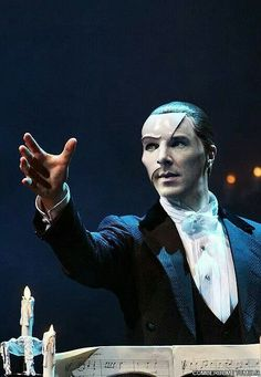 Would definitely go see Ben as the Phantom.