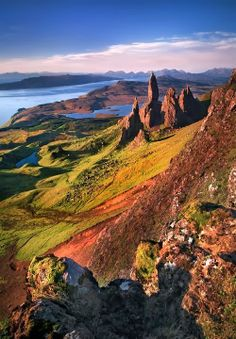 Old Man of Storr - Scotland. Photo by Steven Emerson.