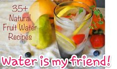 Water is the healthiest beverage possible, and if you're vowing to drink more of it, you may need to switch it up once in awhile so you don't get bored. Bonus, by adding healthy fruits and herbs, you're getting the benefits of those vitamin packed goodies, too.  Some herbs will release more flavor when crushed, though this isn't necessary.