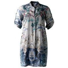 Doris Megger Curvestyle - Belle de jour silk dress