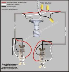 Wiring Diagram For Dimmer Switch Australia 1995 4l80e How To Wire A 2 Way Light In Diagrams 3