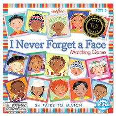 I Never Forget a Face Matching Game by eeBoo