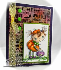 Passionate Paper Creations: Halloween Kiddos - Stampendous