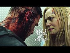 The Punisher - Frank and Karen Elevator Scene - YouTube