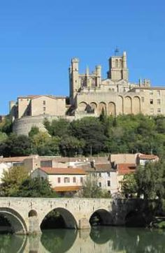 Beziers - site if a terrible massacre of the Cathars in 1209