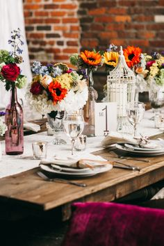 Colorful Vintage Boho Wedding Inspiration