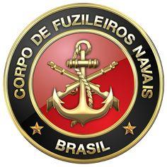 Military Insignia 3D : Brazilian Marines: Corpo de Fuzileiros Navais (CFN)