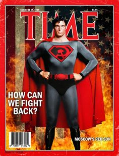 Red Son Christopher Reeves' Superman Covers by Philip Postma