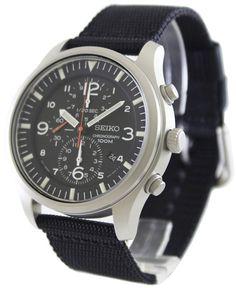 Amazon.co.jp: [セイコー]SEIKO 腕時計 ブラックダイヤルクロノグラフ SNDA57P1 クオーツ メンズ [逆輸入品]: 腕時計通販
