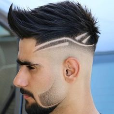 Mens Haircuts Short Hair, Young Men Haircuts, Hairstyles For Teenage Guys, Short Hair With Beard, Curly Hair Men, Hair And Beard Styles, Hairstyles Haircuts, Beard Haircut, Fade Haircut