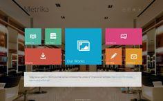 Metrika — Responsive One Page WordPress Theme  #wordpressthemes #metro