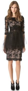 Marchesa All Over Lace Dress on shopstyle.com