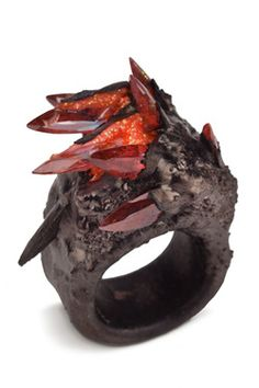 MAUD TRAON  - make glass crystals/agate