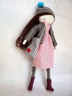 autumn girl doll