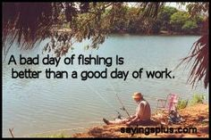 oh what id give to be quarry fishing right now