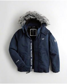 Bring the heat this season in Hollister guys Outerwear, unmatched in quality and durability with superior warmth. All Weather Jackets, Winter Jackets, Bring The Heat, Canada Goose Jackets, Hollister, Guys, Coat, Fashion, Jackets
