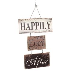 Happily Ever After Wall Sign