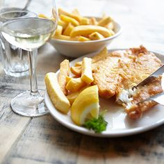 Taking the top spot for London's best fish and chips is Brady's in Wandsworth: a place where the fish is so fresh you'd think they'd hoisted them out of the Thames. Thankfully not. Contenders: Rivington Grill & Poppies. #fish #chips #london http://foodedited.com/fish-chips/