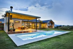 Outside Living, Dream House Exterior, Architect House, Modern Farmhouse Style, Residential Architecture, Outdoor Entertaining, Innovation Design, Outdoor Spaces, Pergola