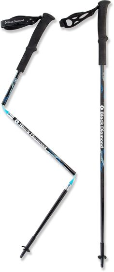 Black Diamond Ultra Distance Z-Pole Trekking Poles - Pair - I wish I had these at Pinnacle National Monument!