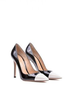 GIANVITO ROSSI Gianvito Rossi Gianvito Mettalic Point Pumps