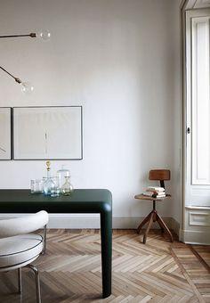 Designer Files: Parisian Chic Dining Room - Apartment34