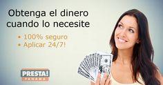Obtenga el dinero cuando más lo necesite. Visita https://www.prestapanama.com/ o llama al: 833-9967.