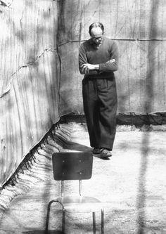 Adolf Eichmann awaits trial in Israel, 1961
