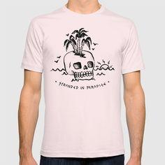 STRANDED IN PARADISE T-shirt: https://society6.com/product/stranded-in-paradise_t-shirt?curator=2tanduk