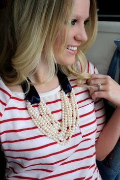 I have so many loooong necklaces that don't lay right with my chest area - I think this would allow me to wear them!