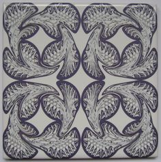 Geometric Tile from Jacqueline Talbot Designs