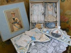 ~~~ Marvelous French Gift-Box for Small French BeBe ~~~