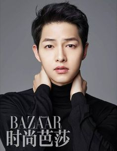 6th Batch of Song Joong Ki's Harper's Bazaar China Spreads + New CF Ads + Hot KT & TOPTEN Vids | Couch Kimchi
