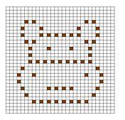 Ravelry: Hippo Bobble Chart pattern by Kari Philpott
