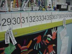 Aquí os dejo el enlace de una recta numérica para trabajar en el aula muchas actividades (numeración, sumas, restas, multiplicaciones…). También es ideal para plastificar y decorar pasillos, escaleras o cualquier espacio del centro. DESCARGA LA RECTA NUMÉRICA Un variación a esta recta es utilizar un color para cada decena, puedes imprimir cada decena en …