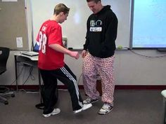 brain break: toe tapper