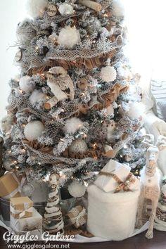 Winter Woodland Christmas Tree – Michaels Dream Tree Challenge