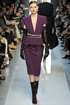 Fall 2012 RTW, Designer: Bottega Veneta, Model: Maria Bradley