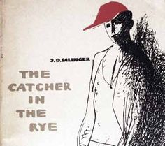 """The cover of the first Russian edition (in English) of """"The Catcher in the Rye"""" by J.D. Salinger"""