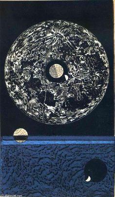 'Configuration No.16', 1974 von Max Ernst (1891-1976, Germany)