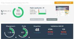 Audit de site web et de qualité