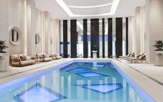 Stunning Pool at the Rosewood Hotel Georgia
